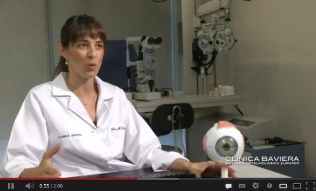 Dra. Margarita Cabanás, oftalmóloga de Clínica Baviera Sevilla