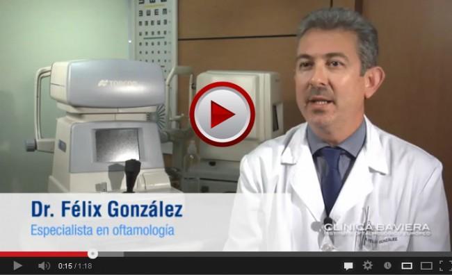Dr. Félix González, especialista en oftalmología