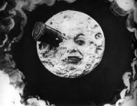 Cartel viaje a la Luna