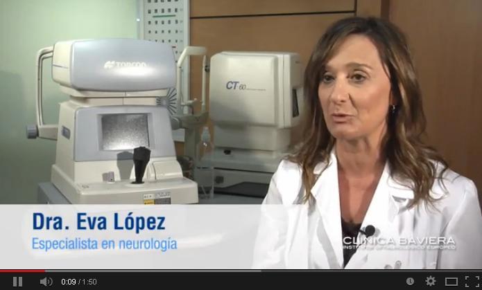 Dra. Eva López, especialista en Neurología