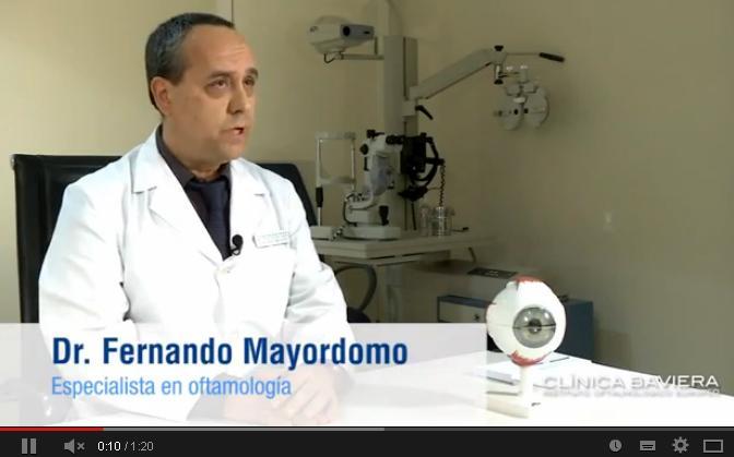 Dr. Fernando Mayordomo, especialista en oftalmología