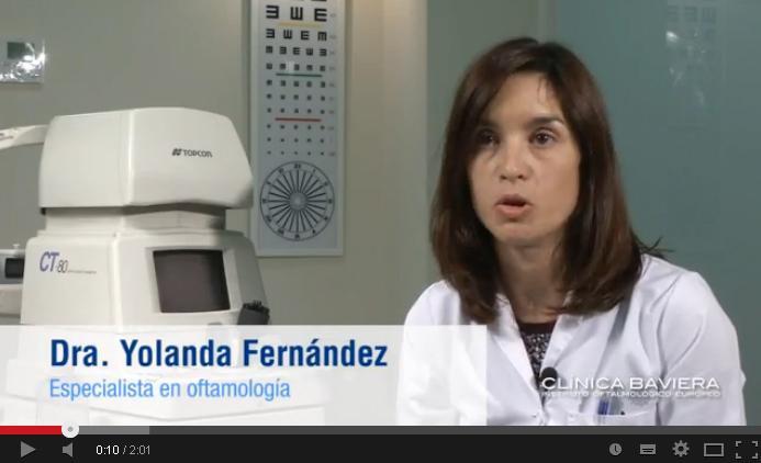 Dra. Yolanda Fernández, especialista en oftalmología