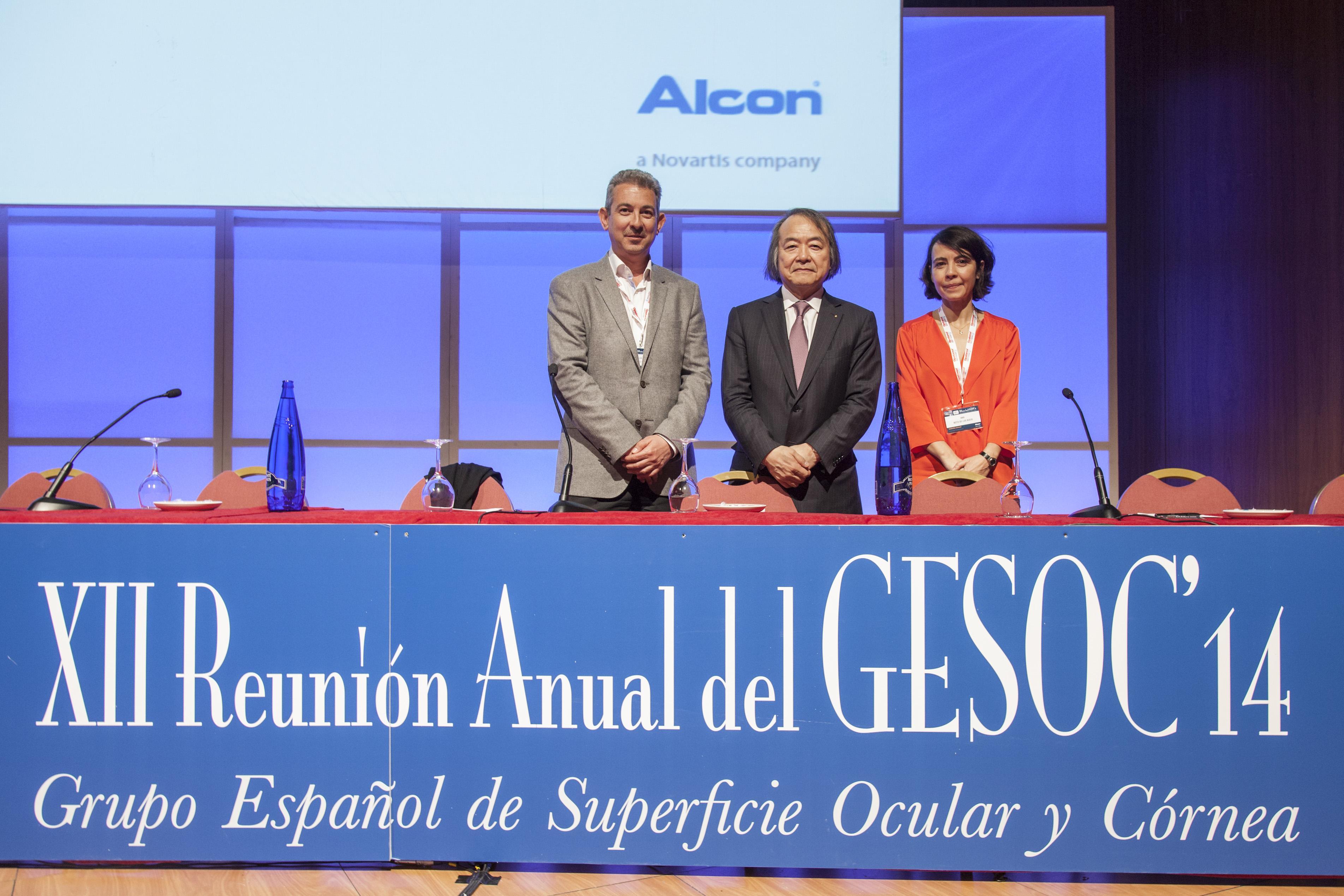 Dr. Félix González y Dra. Ana Boto en la XII Reunión Anual del GESOC