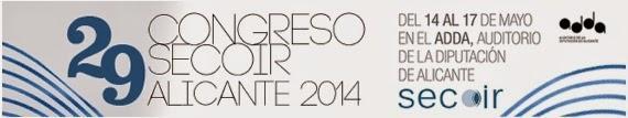 Logo Congreso Secoir Alicante 2014