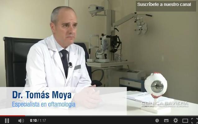 Dr. Tomás Moya, especialista en oftalmología