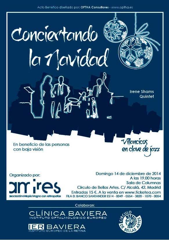Cartel concierto de Navidad Amires