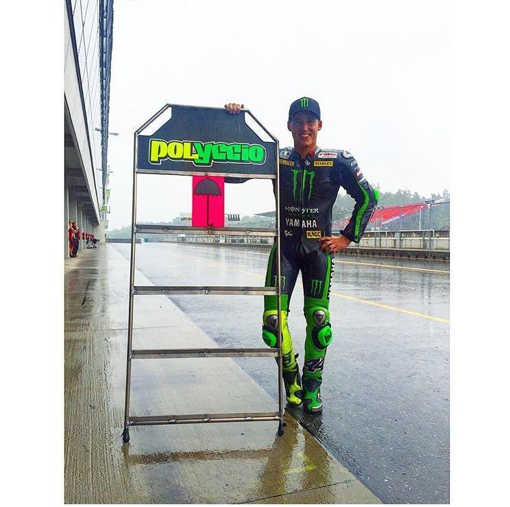 Pol Espargó equipado para carrera