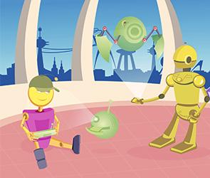 Ilustración robots