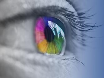 Arcoiris en un ojo