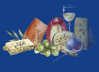 Ilustración alimentos