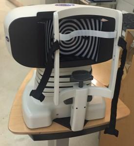Topografía prueba oftalmología