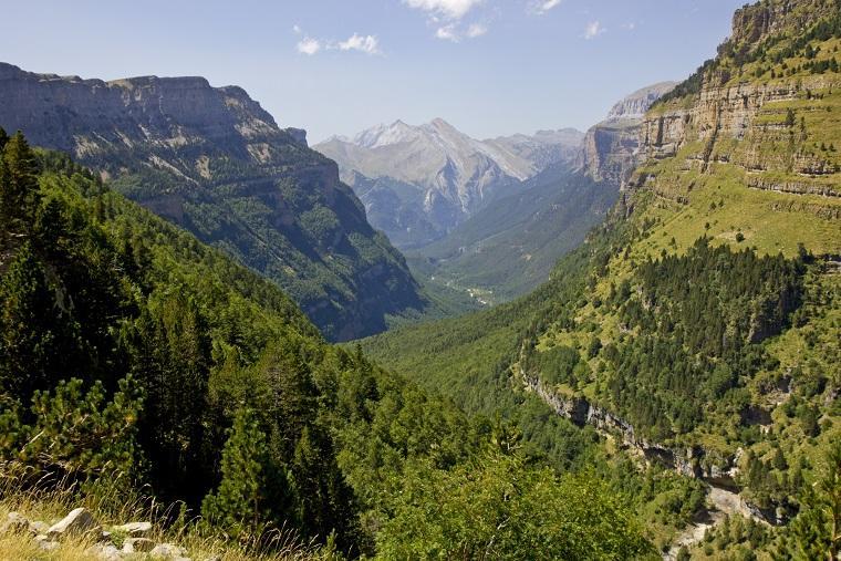 Vistas del Valle de Ordesa