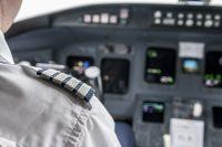 Interior cabina de avión
