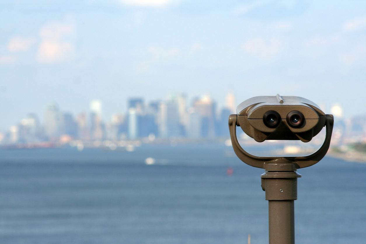 Mirador sobre una ciudad