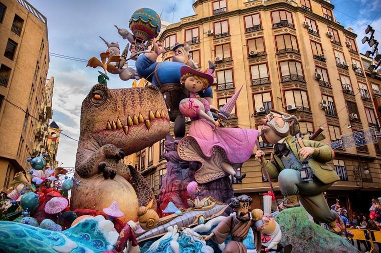 Ninots de las Fallas de Valencia