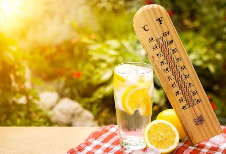 Limonada y termostato