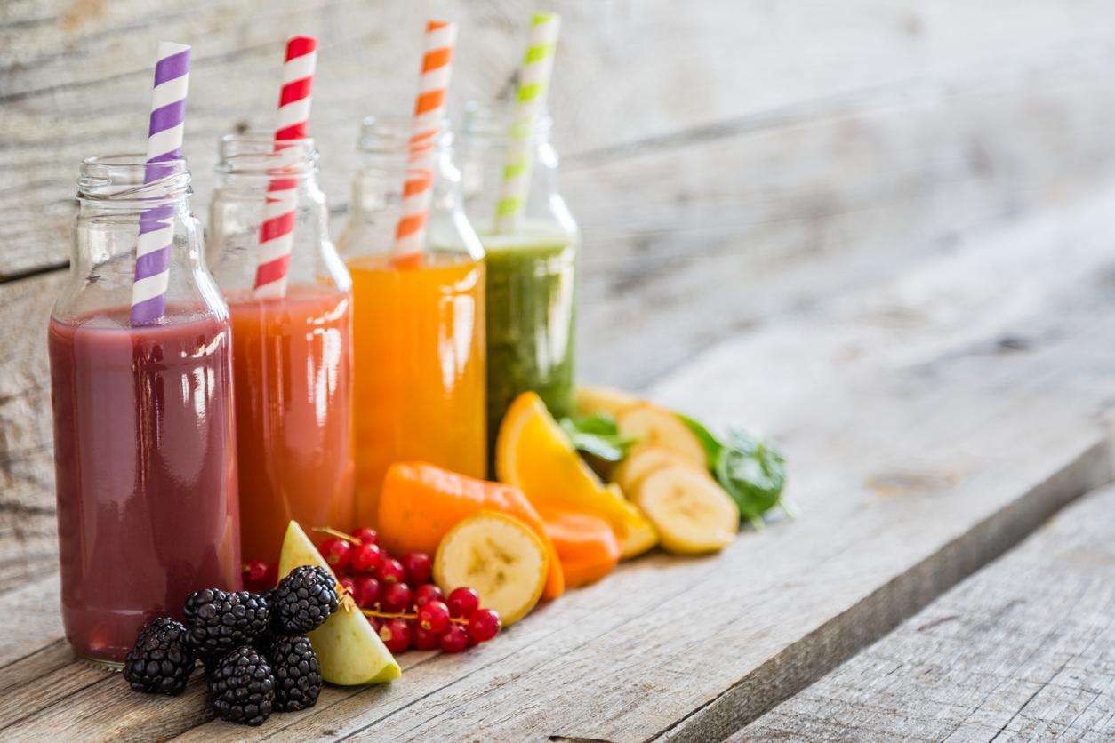 Batidos y frutas