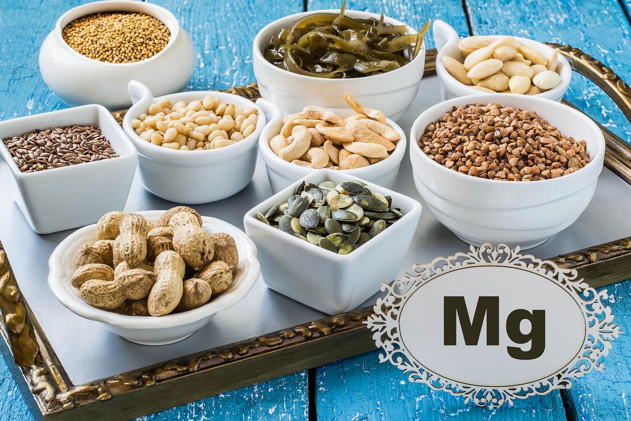 Alimentos con magnesio y vitamina B6