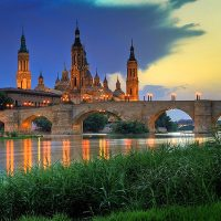 Panorámica río Ebro Zaragoza