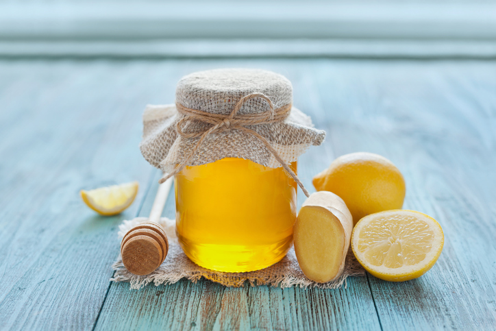 Jenjibre, limón y miel