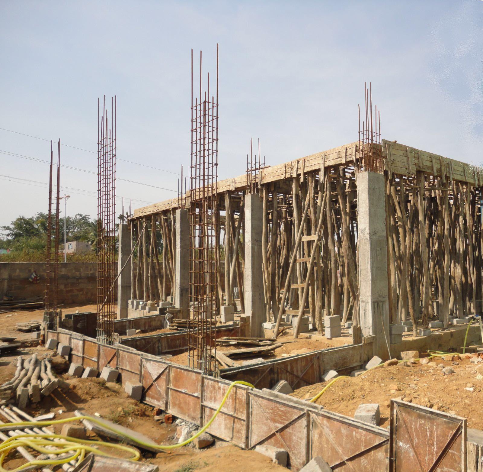 Primera fase construcción hospital oftalmológico