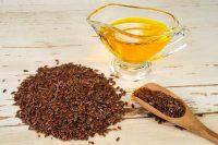Semillas y aceite de linaza
