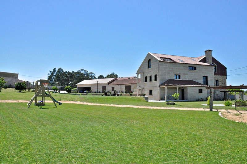 Hotel rural en el campo