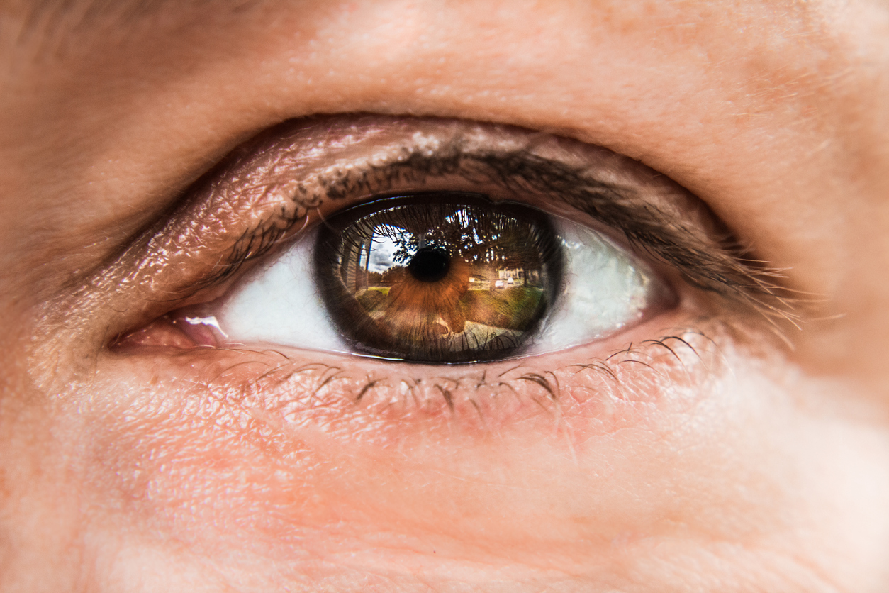 Primer plano de ojo