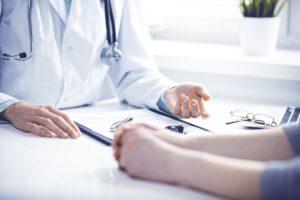 Consulta con un médico
