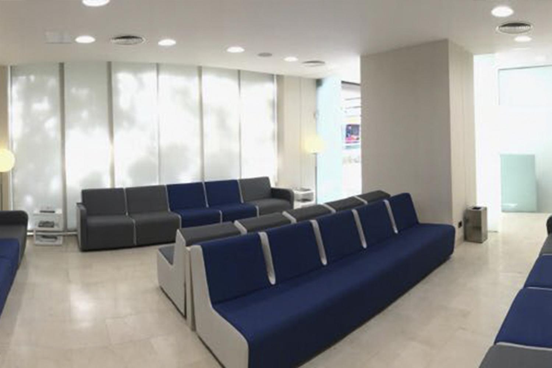 Sala de espera. Clínica Baviera Sevilla Enramadilla