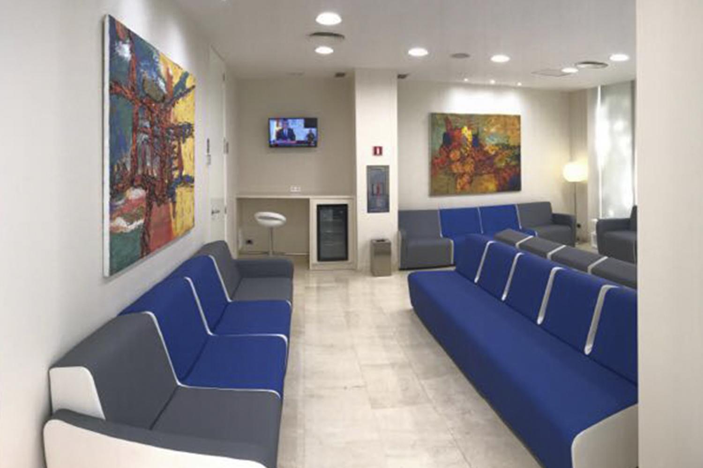 Sala de espera. Clínica Baviera Sevilla